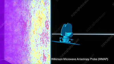 Cosmic microwave background, WMAP image