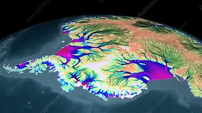 Antarctic ice flows