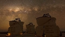 Night sky over the Paranal Observatory
