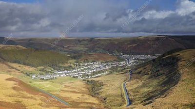 Rhondda Valley, timelapse