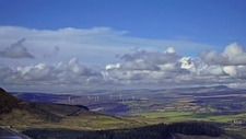 Clouds over the Brecon Beacons, timelapse