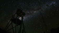 Night sky at E-ELT site, timelapse