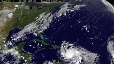Hurricane Isaac formation
