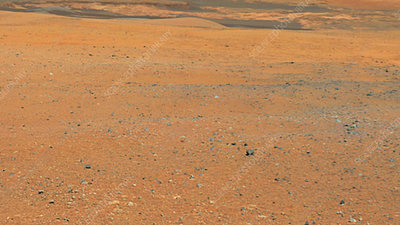 Panorama of Mars from Curiosity