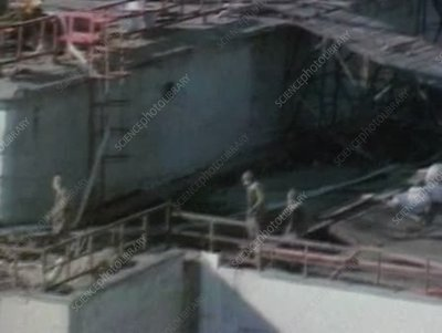 Decontamination of Chernobyl, 1986