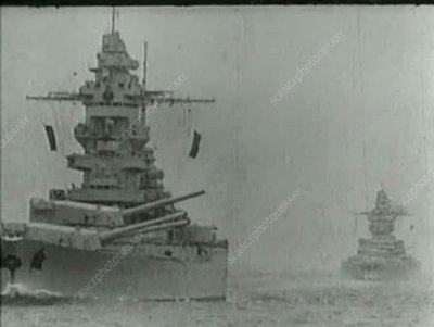 British-German naval actions, World War II