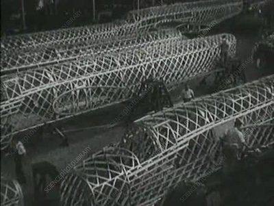 British warplane production, World War II