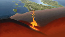 Subduction zone and volcanoes