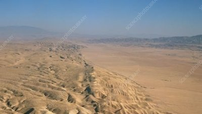 San Andreas Fault, aerial