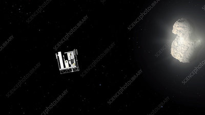 Philae deployed to comet 67P