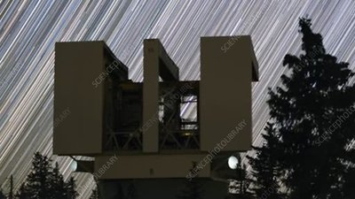 Large Binocular Telescope star trails