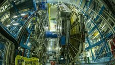 ATLAS detector at CERN, timelapse footage