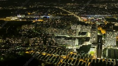 Olympic Village, Munich, timelapse