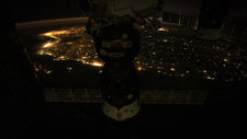 City lights over Brazil, ISS video