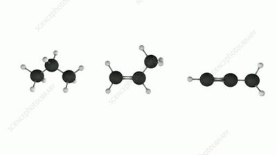 Alkane, alkene and alkyne hydrocarbons