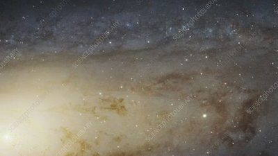 Andromeda Galaxy, largest HST image