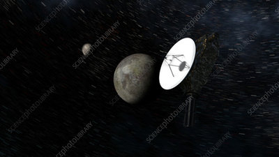 New Horizons space probe at Pluto