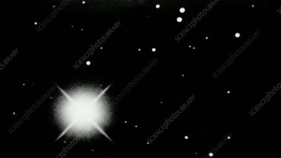 Pluto blink comparison, March 1930