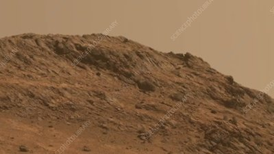 Hinners Point in Marathon Valley, Mars