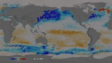 Ocean surface CO2 and winds, 2009-10