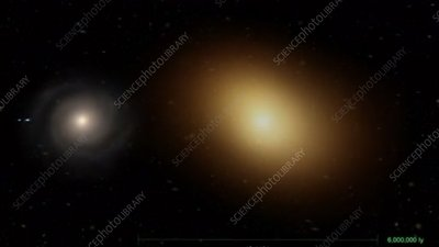 Galaxy sizes compared