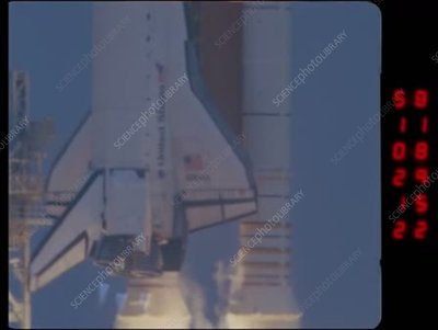 Space Shuttle Atlantis STS-135 launch, high-speed footage