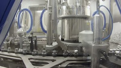 Drug research machinery, timelapse