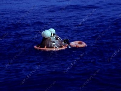 Apollo 17 recovery divers, 1972