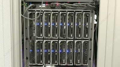 Servers at a data centre