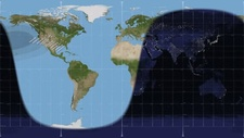 21st August 2017 total solar eclipse path