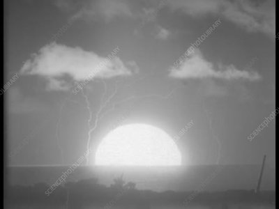 First thermonuclear test, high-speed footage, 1952