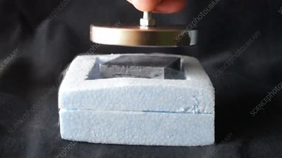 Superconductor magnet demonstration