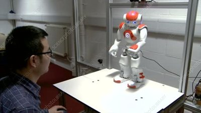 Robot research to help children with autism