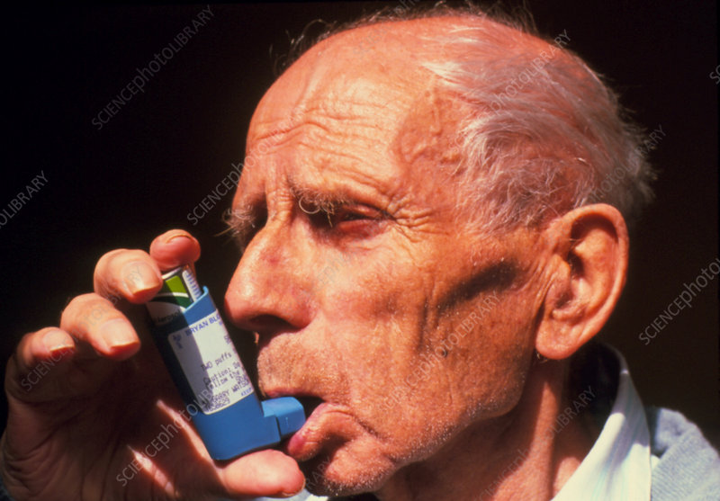 Elderly asthmatic