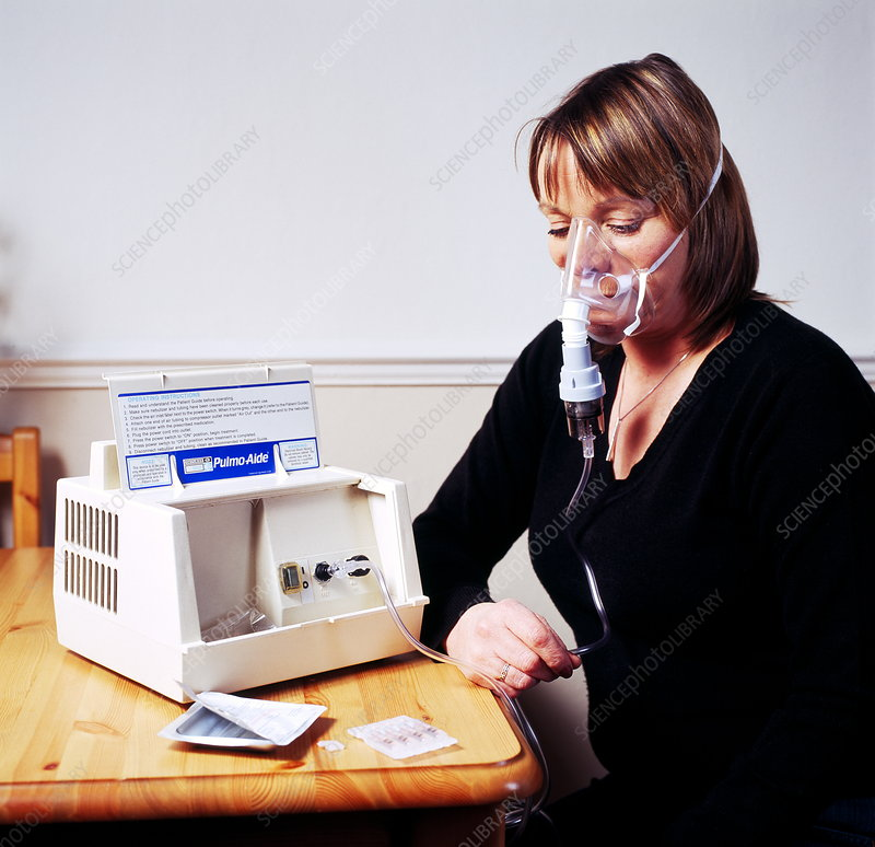 Nebulizer use