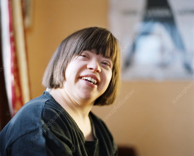 Woman with Down's syndrome