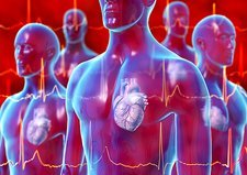 Irregular heartbeat, conceptual artwork