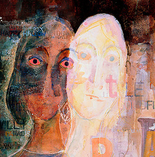 Illustration of schizophrenia