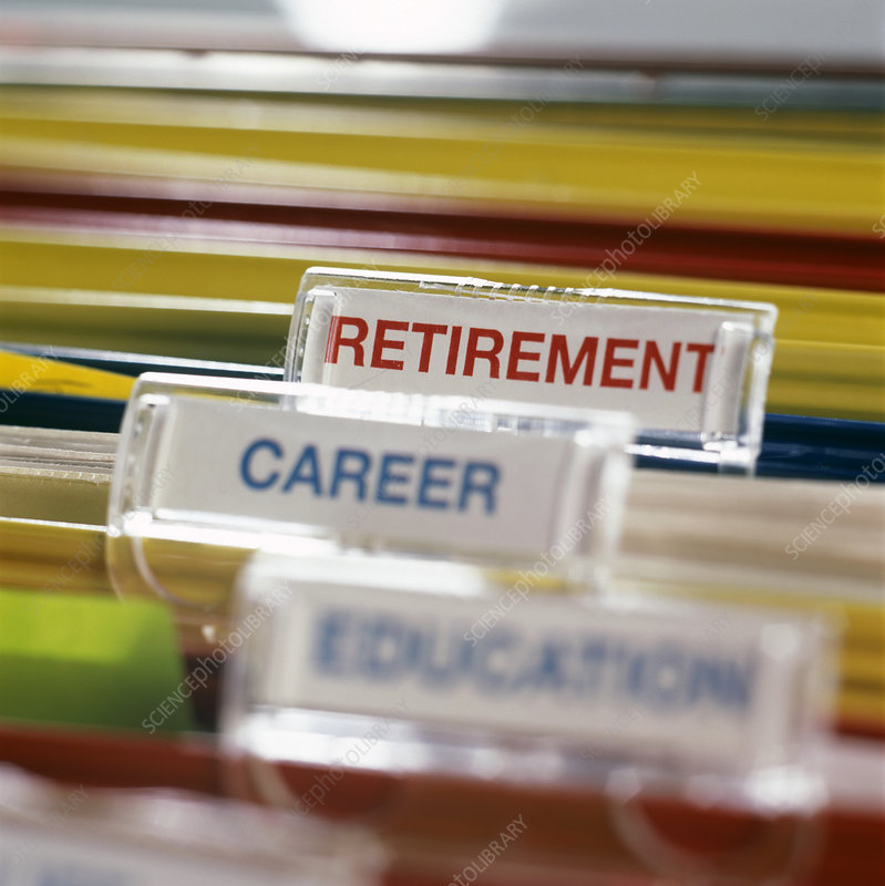 Retirement Plans Stock Image M340 0342 Science Photo