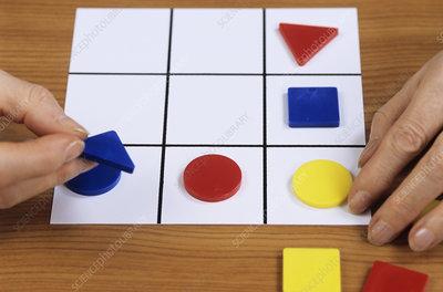Memory and logic game