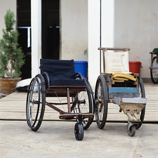 Wheelchair design