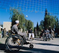 Wheelchair volleyball