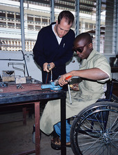 Wheelchair workshop