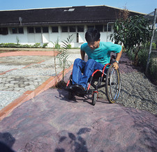 Wheelchair training