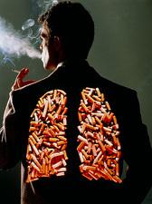 اثر سیگار بر کمر