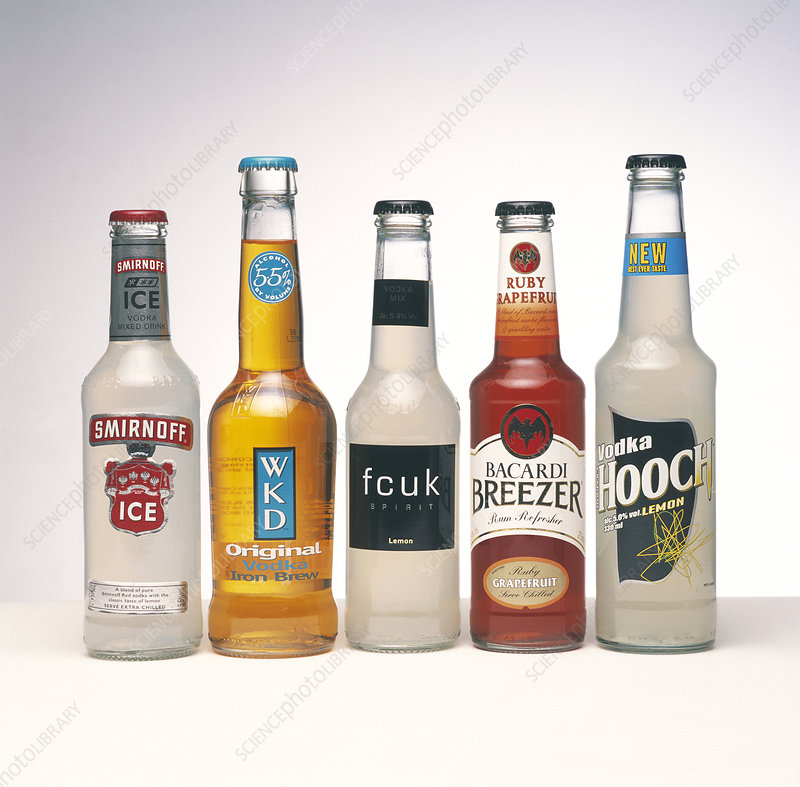 Alcopop drinks