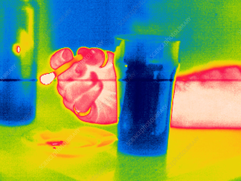 Smoking and drinking, thermogram