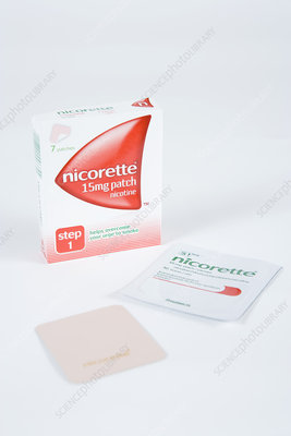 Nicorette nicotine patches
