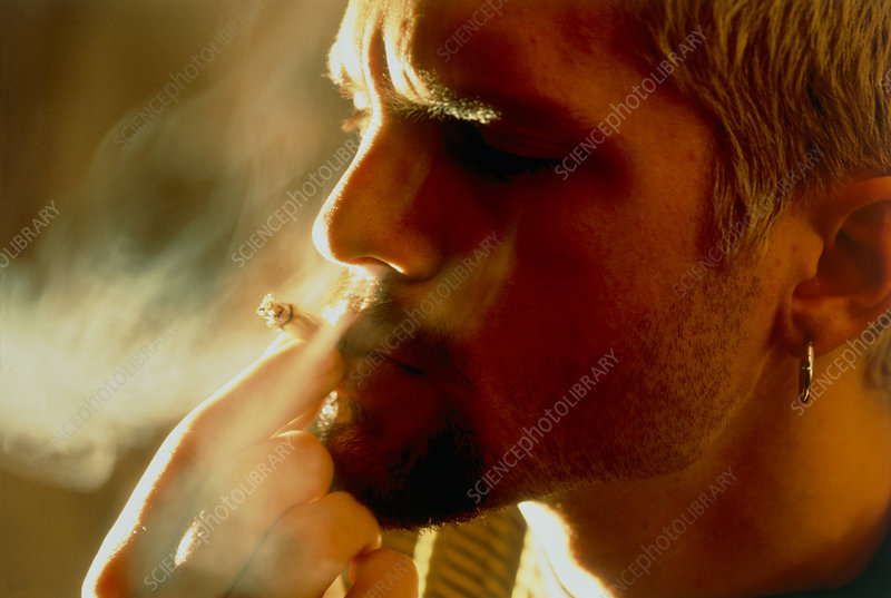 Smoking cannabis