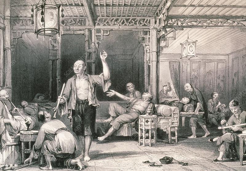 east london opium smokers